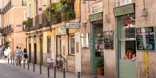 WW3GRN Calle del Esp'ritu Santo, Malasana district, Madrid, Spain