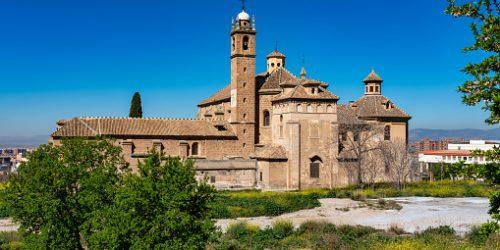 Monasterio de la Cartuja in Granada Andalusia Spain in Wetsern Europe